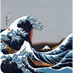 The Great Wave off Kanagawa Furoshiki