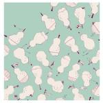 Furoshiki bag Pears -La france- (L) Furoshiki