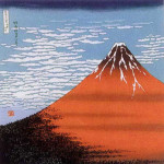 Red Fuji -Aka fuji- Furoshiki
