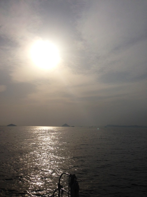 Sunset at Seto Inland Sea