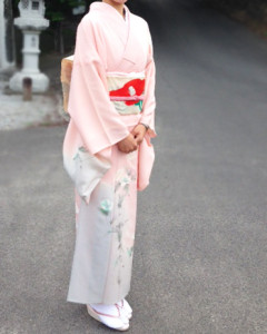 Kimono of summer