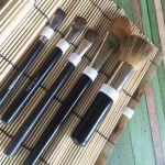 cosmetic brush case to make in Japanese sushi tool