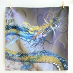 Tapestry Phoenix with arabesque -Houou- (M) Furoshiki