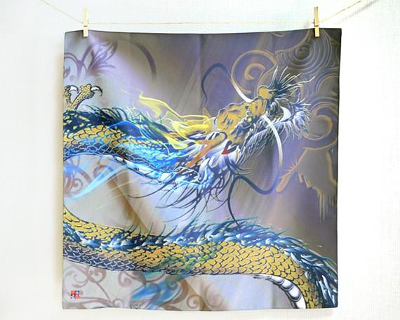 Rising dragon -Nobori ryu- (S) Furoshiki