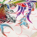 Phoenix with arabesque -Houou- (S) Furoshiki
