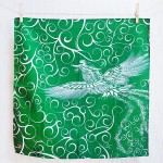30% OFF! Firebird with arabesque -Hi no tori- (S) Furoshiki