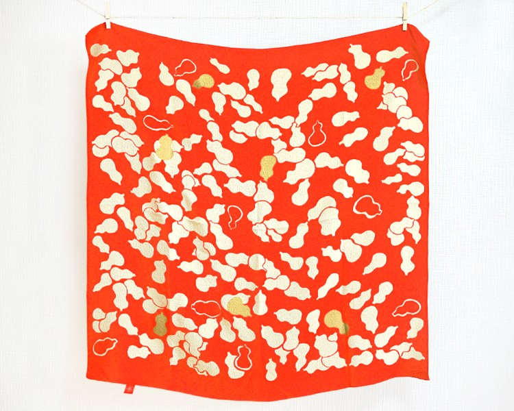 Gourd Red-Hyoutan- (M/Silk) Furoshiki