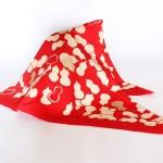 Gourd Red-Hyoutan- (L/Cotton) Furoshiki