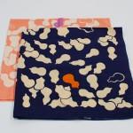 Gourd Navy-Hyoutan- (M/Cotton) Furoshiki