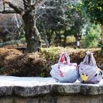 Camellia -Tsubaki- Yellow Furoshiki