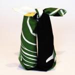 A lily bell -Suzuran- Black(Cotton) Furoshiki