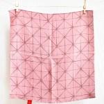 Star hemp Pink-Asa- Furoshiki