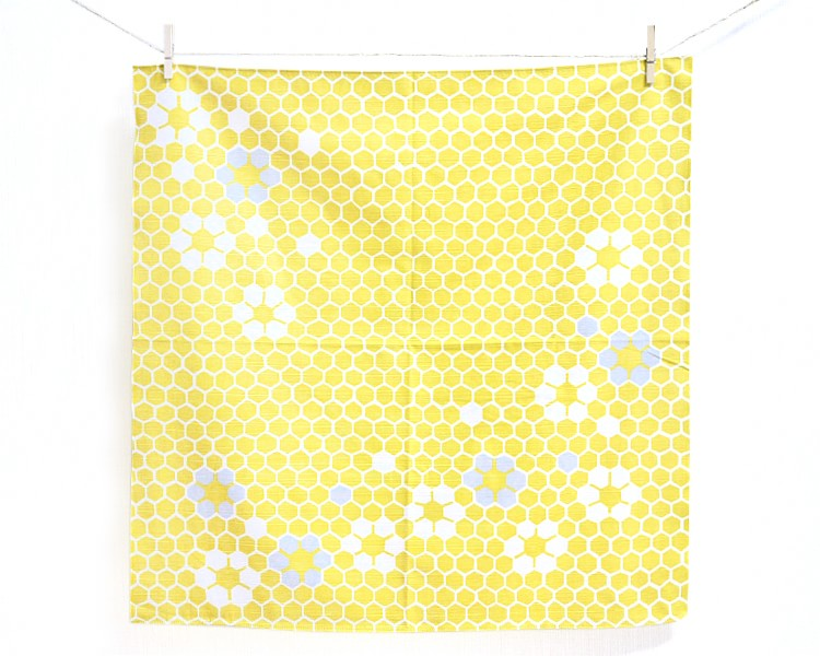 The Honey Yellow-Rokkaku- (Cotton) Furoshiki