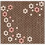 The Honey Brown-Rokkaku- (Cotton) Furoshiki