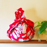40% OFF! Cosmetics Red Furoshiki