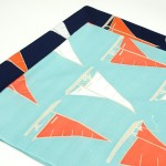 Yacht Light-blue Furoshiki