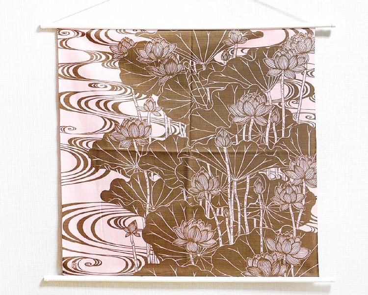 Tapestry Lotus -Hasu- Brown (M) Furoshiki
