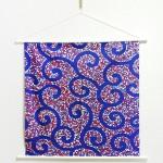 Tapestry Arabesque -Karakusa- Blue (M) Furoshiki