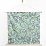 Tapestry Arabesque -Karakusa- Gray (M) Furoshiki