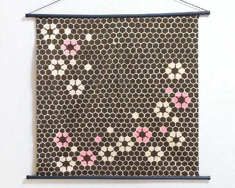 Tapestry The Honey Brown -Rokkaku- (M) Furoshiki