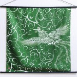 Tapestry Firebird with arabesque -Hi no tori- (M) Furoshiki