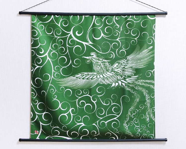 30% OFF! Tapestry Firebird with arabesque -Hi no tori- (M) Furoshiki