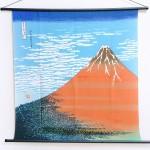 Tapestry Red Fuji -Aka fuji- (M) Furoshiki