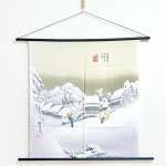 Tapestry The Fifty-three Stations of the Tokaido -Kambara- (M) Furoshiki