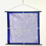 Tapestry Fan -Ougi- Indigo blue (M) Furoshiki