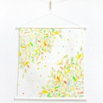 Tapestry Leaf road (S) Furoshiki