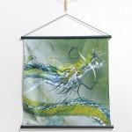 Tapestry Rising dragon -Nobori ryu- (S) Furoshiki
