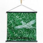 30% OFF! Tapestry Firebird with arabesque -Hi no tori- (S) Furoshiki