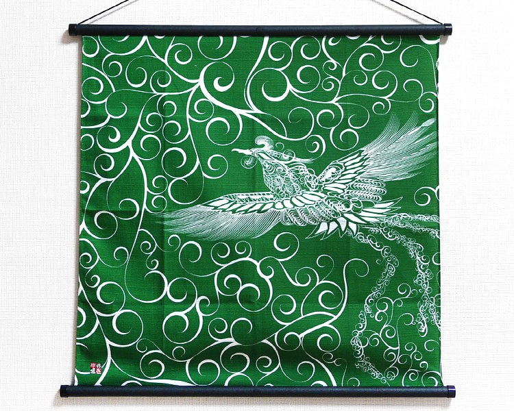 Tapestry Firebird with arabesque -Hi no tori- (S) Furoshiki