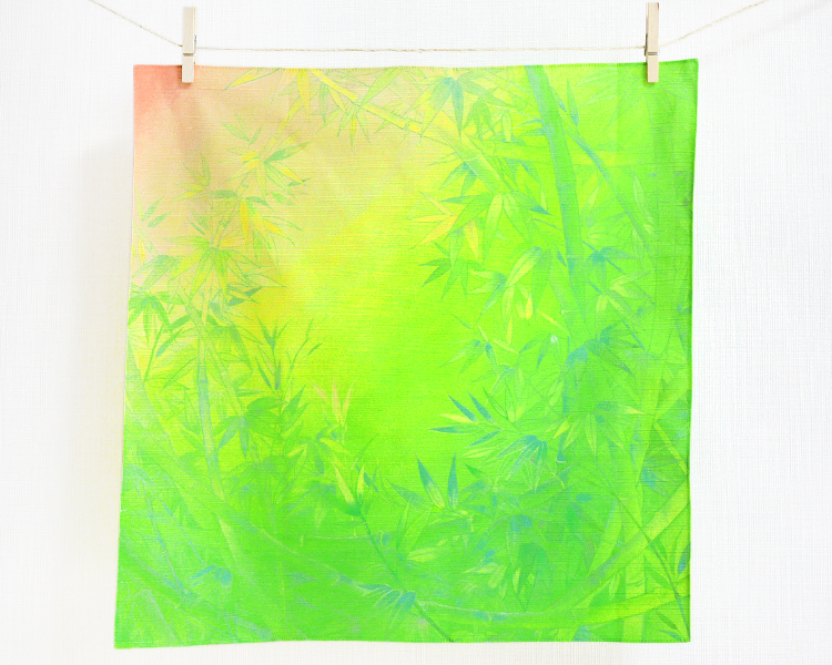 Bamboo of sunrise (S) Furoshiki
