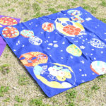 Shell of flowers Navy (L) Furoshiki