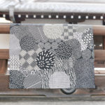 Edo geometric Black (M) Furoshiki