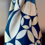 Twinkle cloisonne Blue (M) Furoshiki