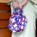Twinkle cloisonne Purple (M) Furoshiki